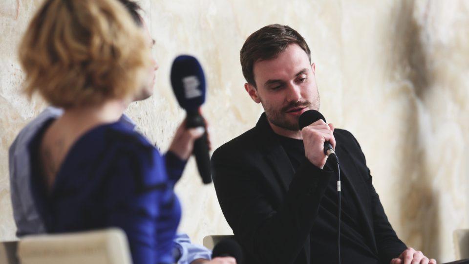 Marek Šindelka na Audioportu ve vile Tugendhat