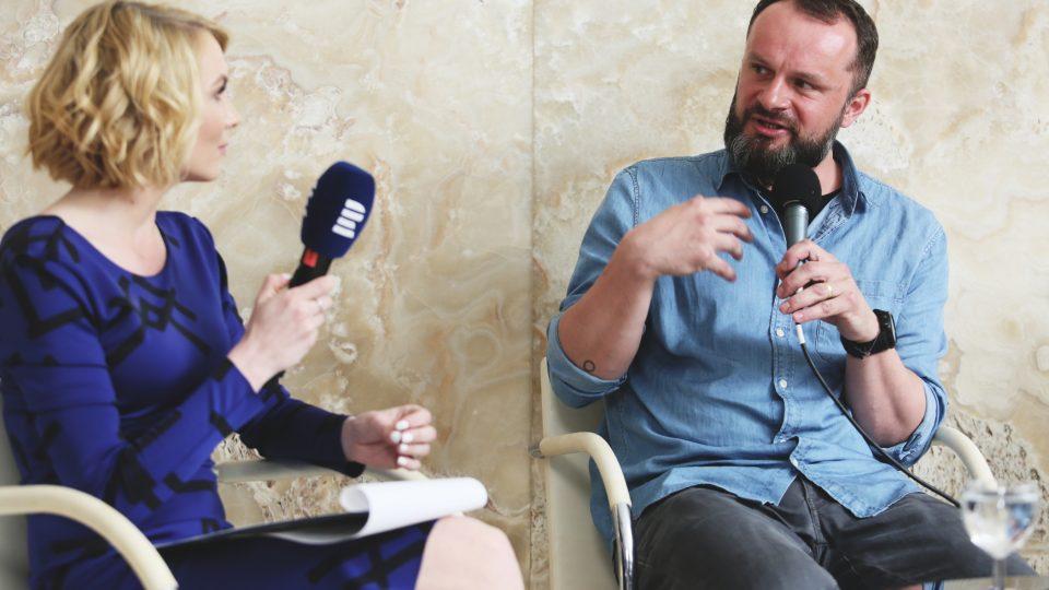 Erik Šille na Audioportu ve vile Tugendhat
