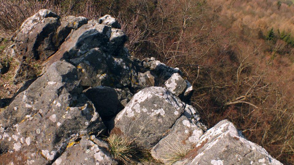Trojhora z vrcholového hřebene