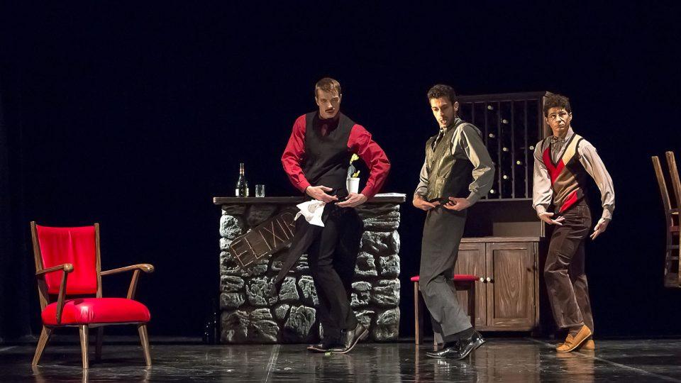 Baletní večer Dekkadancers na jihu v Jihočeském divadle - choreografie Elixír