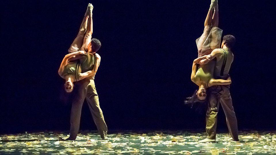 Baletní večer Dekkadancers na jihu v Jihočeském divadle - choreografie Přesně včas
