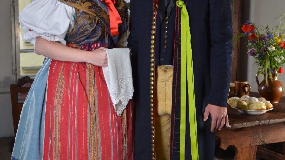 Lidové kroje ze sbírek Národopisného muzea Plzeňska