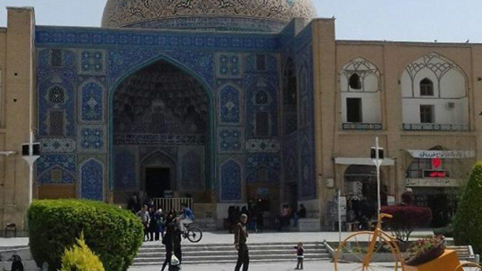 Anita Krusová v Íránu