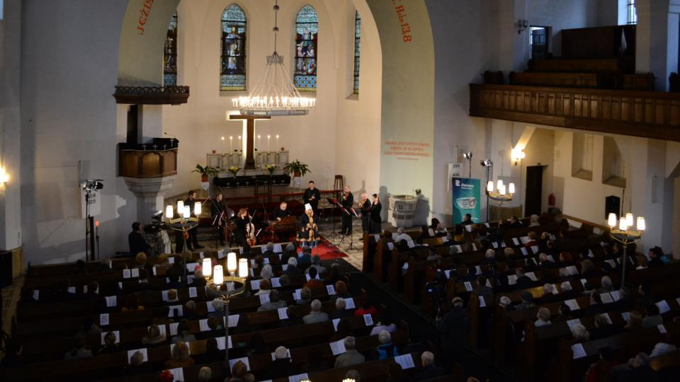 Ensemble FLAIR Baroque v Evangelickém Kristově kostele