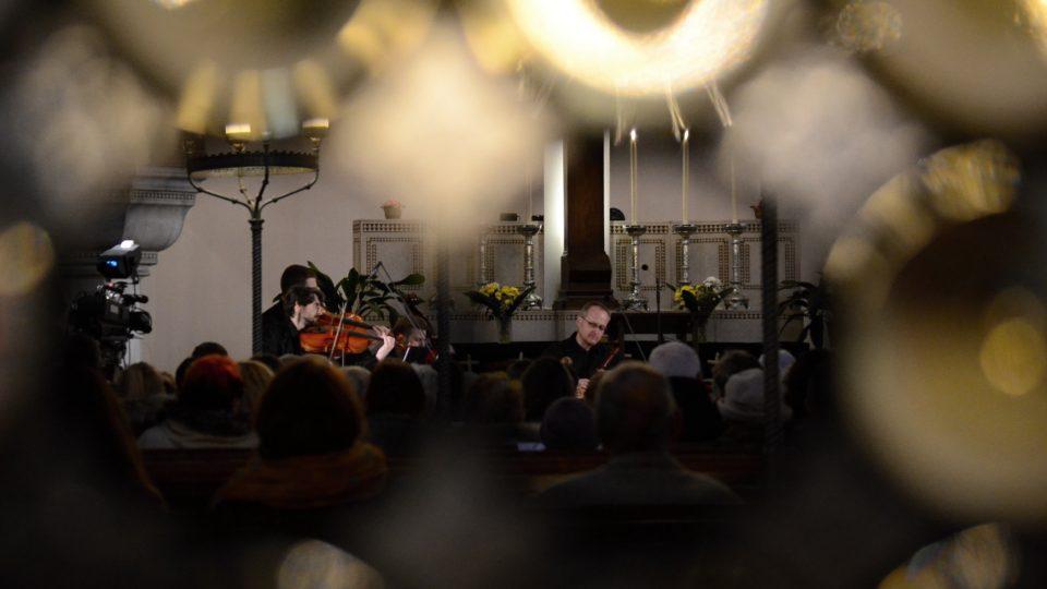 Jan Rokyta a Ensemble FLAIR Baroque v Evangelickém Kristově kostele