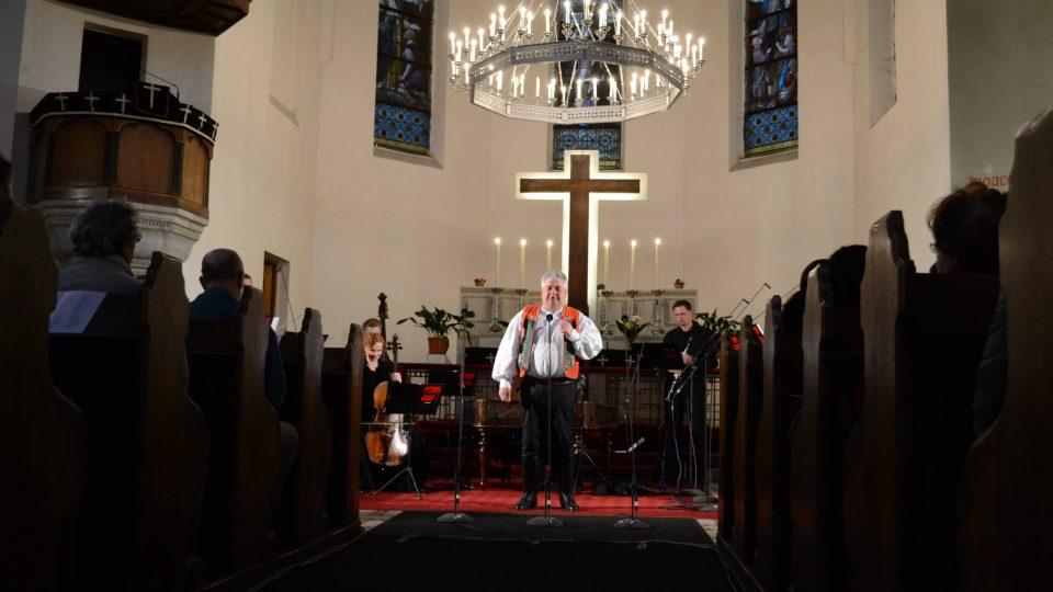 Jan Zaviačič v Evangelickém Kristově kostele