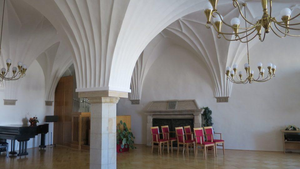 Obřadní síň moravskotřebovské radnice