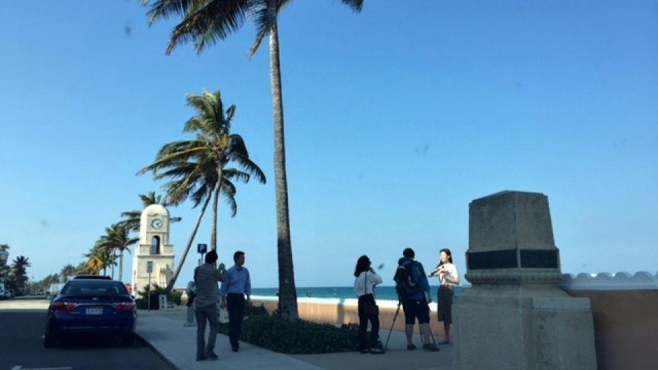 Palm Beach je od loňského roku díky Donaldu Trumpovi v centru zájmu médií