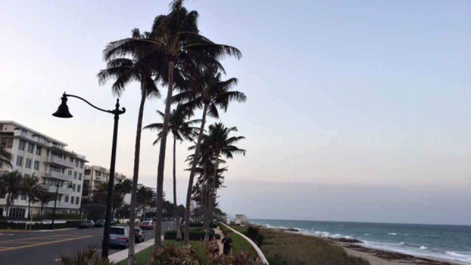 Palmy a pláže, to je Palm Beach