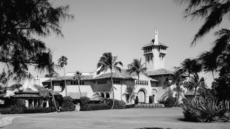 Rezidence Mar-a-Lago na fotografii z roku 1967
