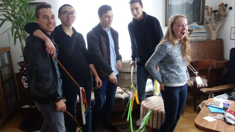Sára z Belgie a její zkušenosti s českou pomlázkou