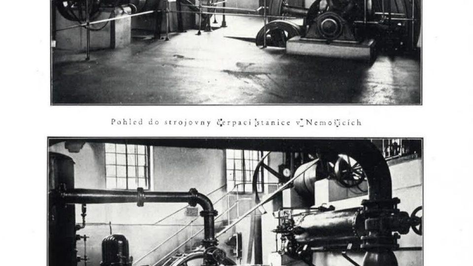Původní čerpadla v Nemošicích