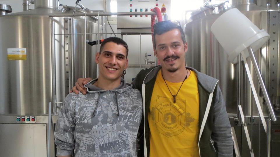 Andrea Casini (vlevo) a Riccardo Di Profio