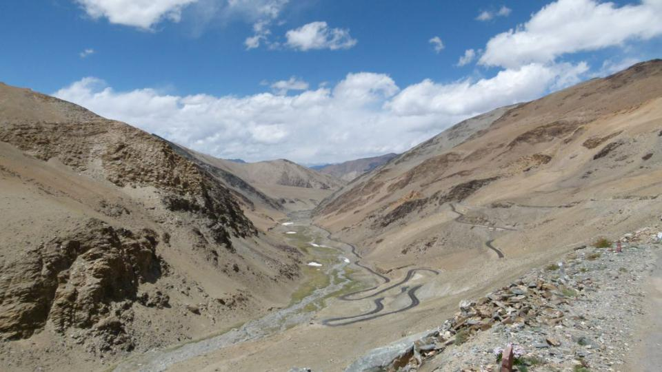 Cyklocestovatel Tomáš Zaplatílek na své cestě ze Singapuru do Ladakhu