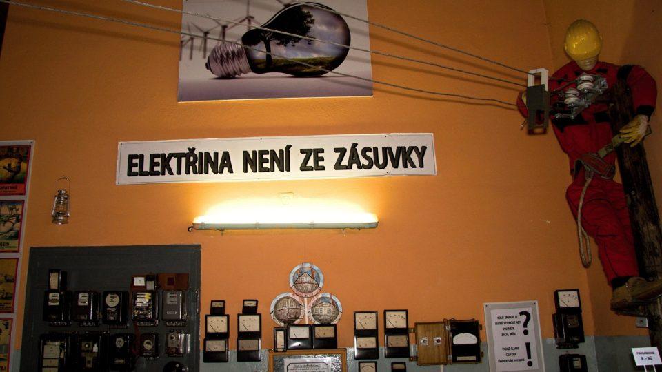 Elektřina není ze zásuvky
