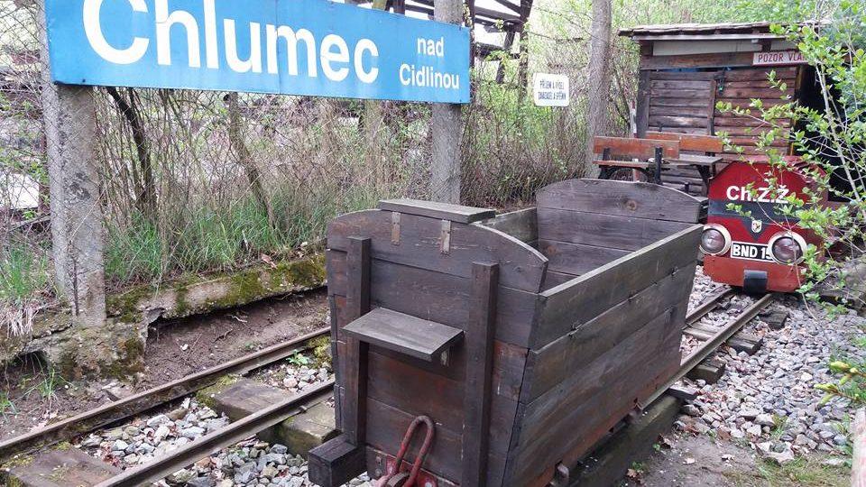 Chlumecká zahradní železnice - Malá Albula