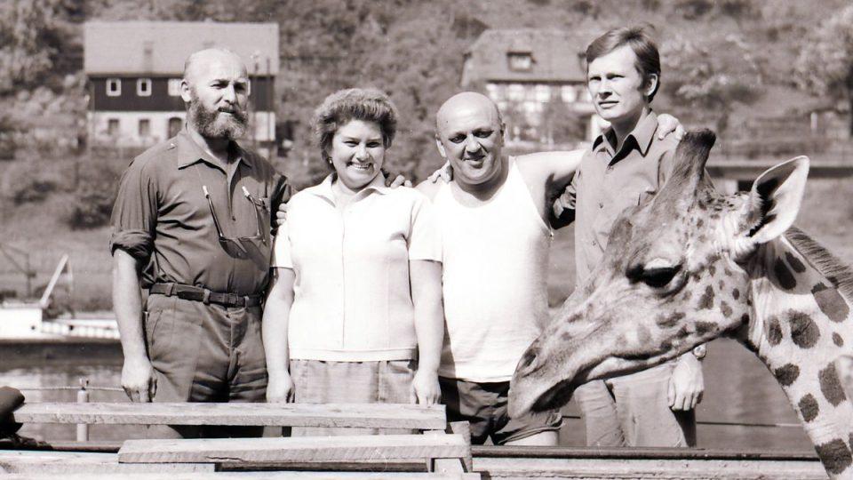 Legendární ředitel dvorské zoo Josef Vágner