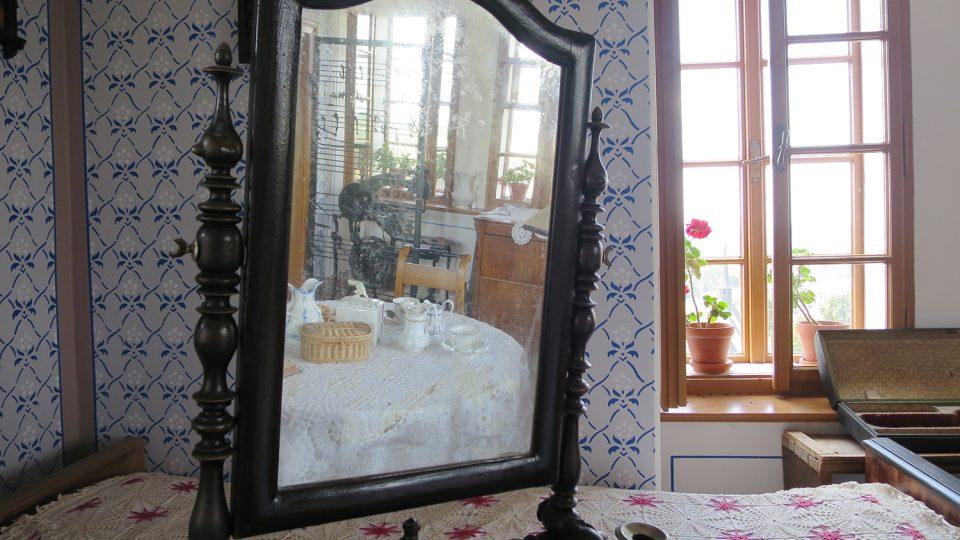 Interiér rodné světničky Bohuslava Martinů