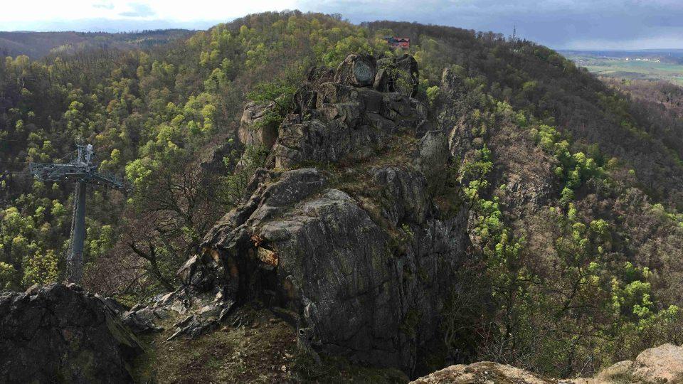 Pohoří Harz leží na pomezí bývalého Východního a Západního Německa