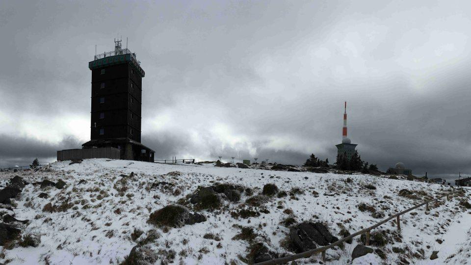 Hora Brocken je nejvyšší horou německého severu