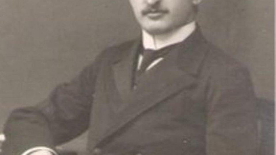 Poslední budějovický rabín Rudolf Ferda, který zahynul v roce 1944 v Osvětimi-Březince
