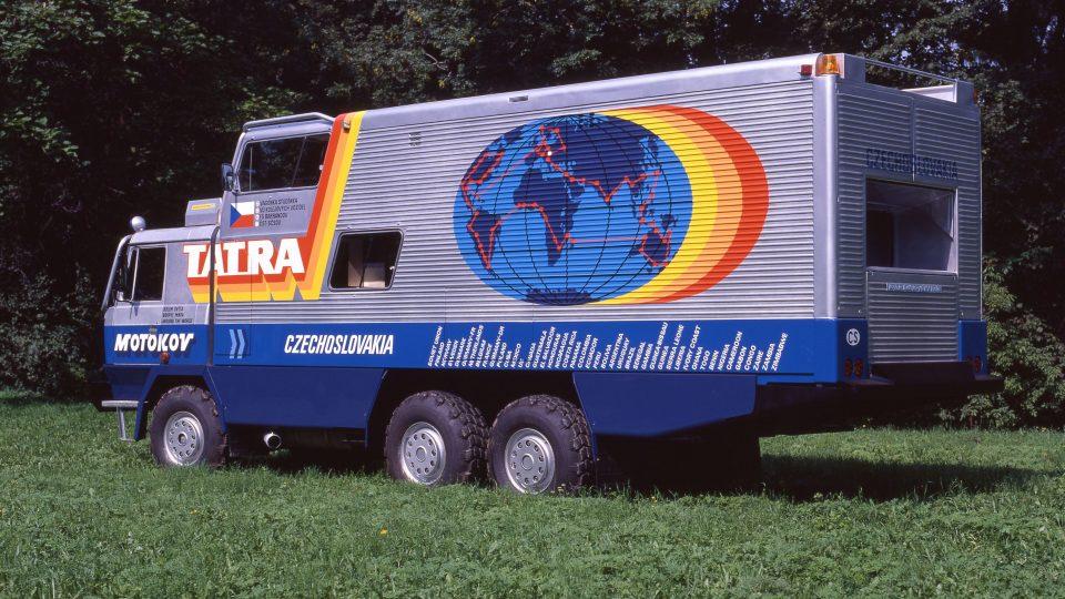 Expediční Tatra 815 GTC