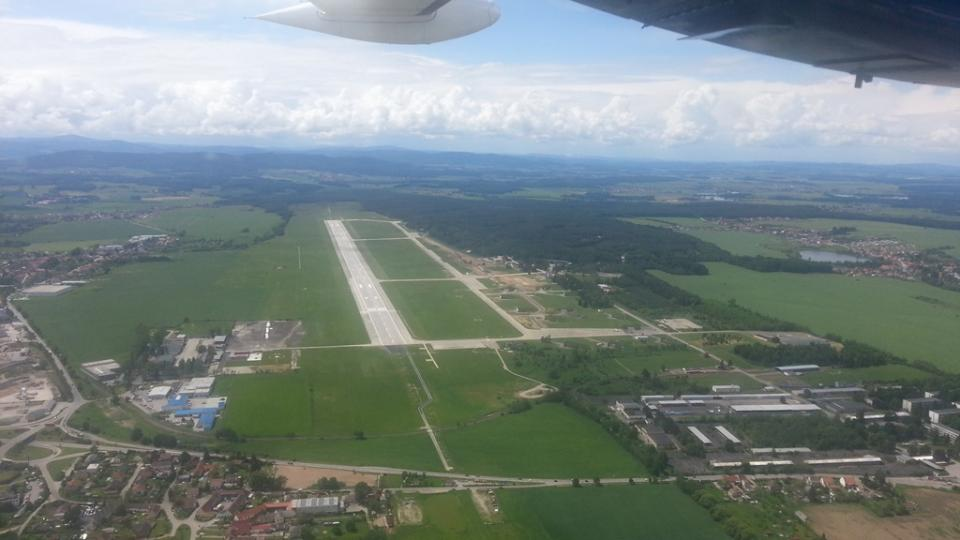 Jihočeské letiště v Plané u Českých Budějovic