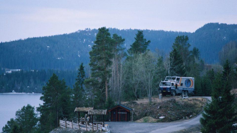 Tatra 815 GTC – zřejmě v Kanadě