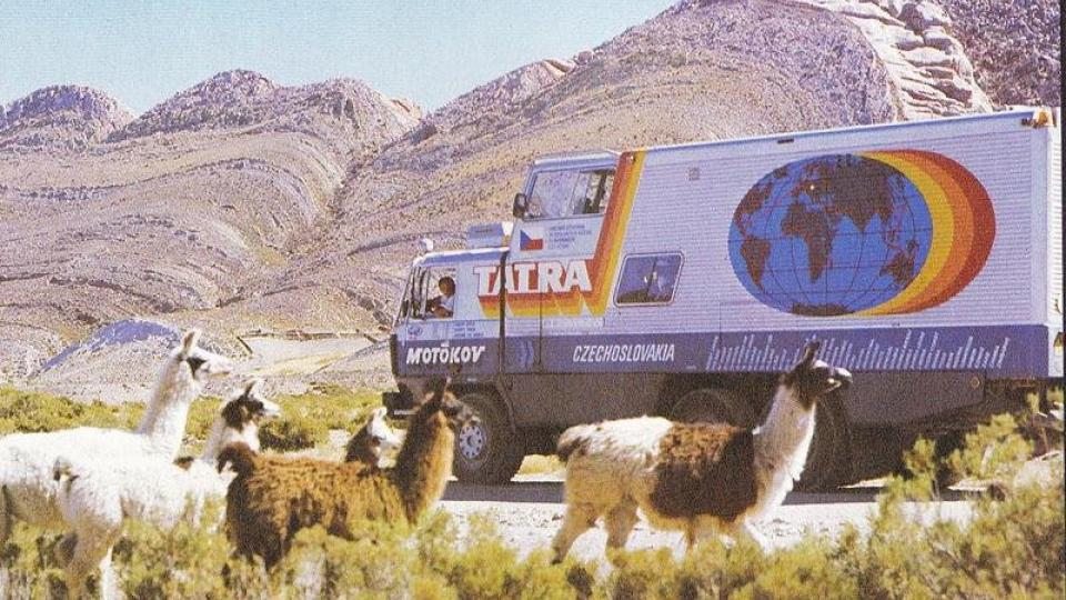 Tatra 815 GTC – lamy a Jižní Amerika
