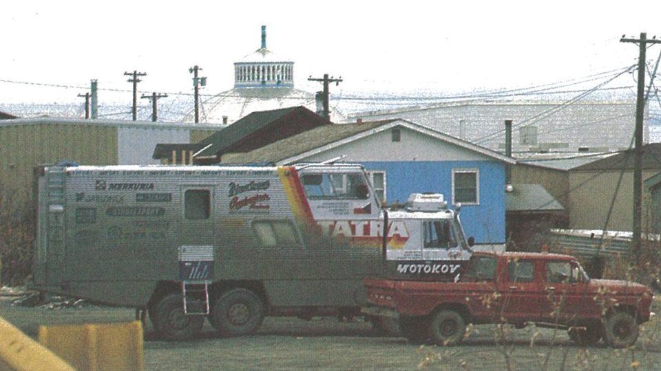 Tatra 815 GTC – na Aljašce