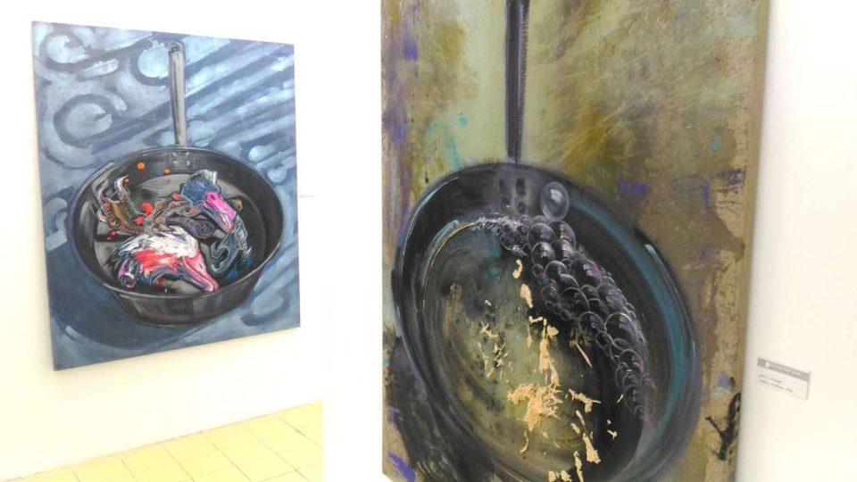 V Liberci představila své dílo výtvarnice Xénia Hoffmeistrová