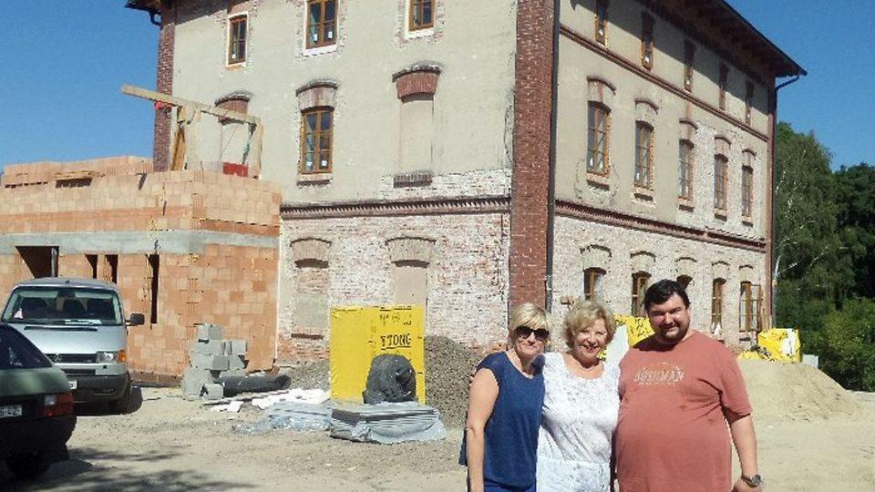 Herecký dům Viktorka. V Ratibořicích vzniklo první herecké muzeum v Čechách. Budova při rekonstrukci