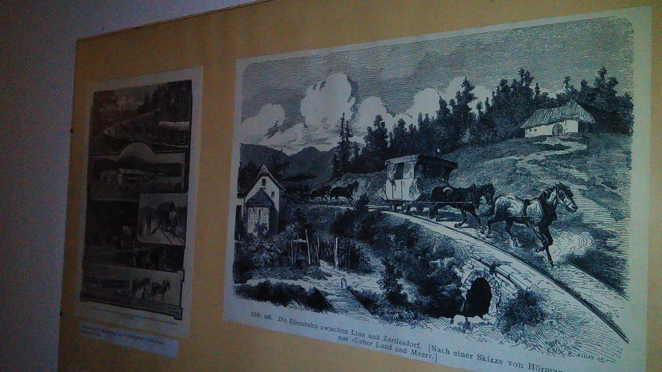 V jihočeském Římově můžete navštívit Roubenku s velkým R s expozicí věnovanou bývalé koněspřežní železnici z Českých Budějovic do Lince