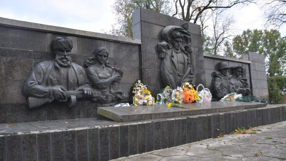 Památník partyzánskému hnutí v Ljubovli