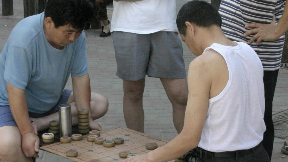 Čínské šachy se od evropských v mnohém liší