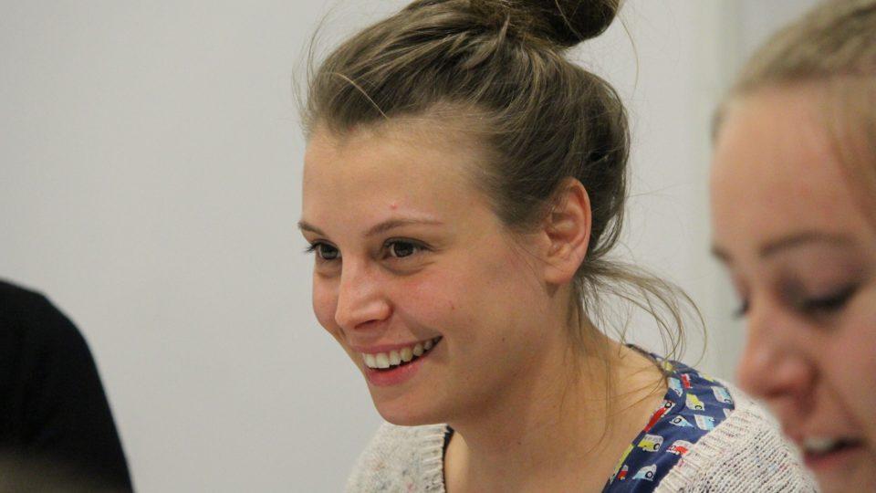 Natáčení dramatického seriálu Ostrovy - Veronika Lazorčáková