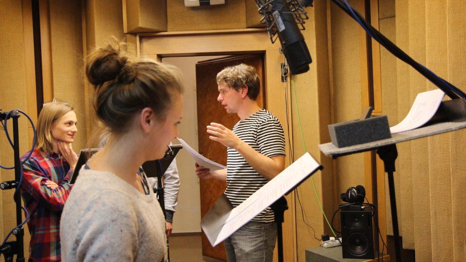 Natáčení dramatického seriálu Ostrovy