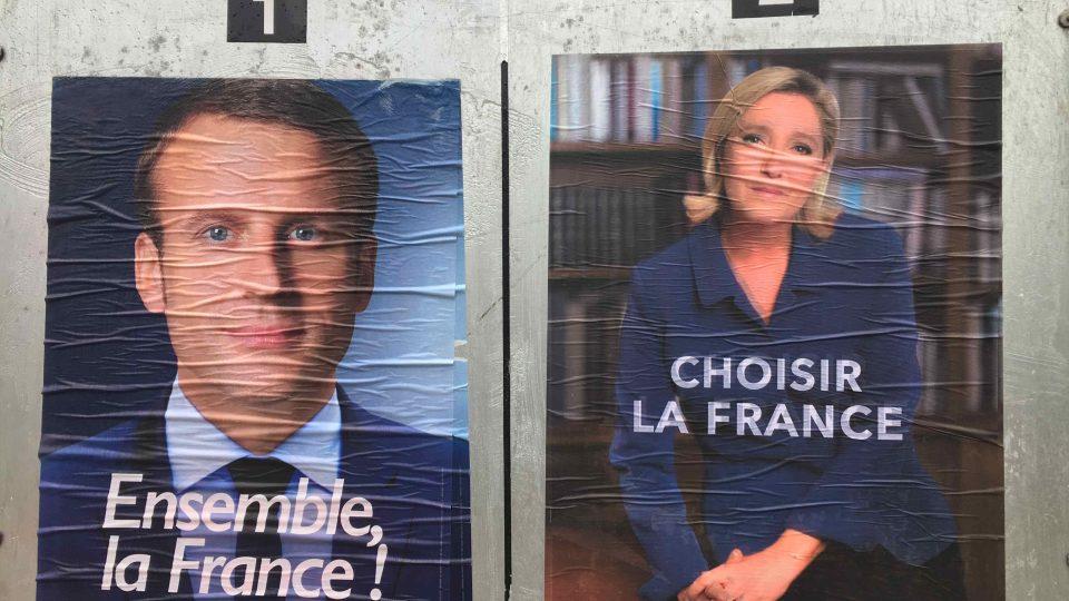 V druhém kole prezidentské volby porazil Macron nacionalistickou kandidátku Marine Le Penovou