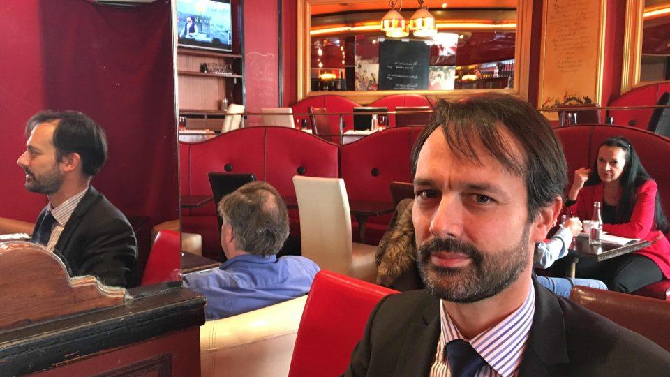 Benjamin Richard, bývalý spolužák nového francouzského prezidenta Emmanuela Macrona
