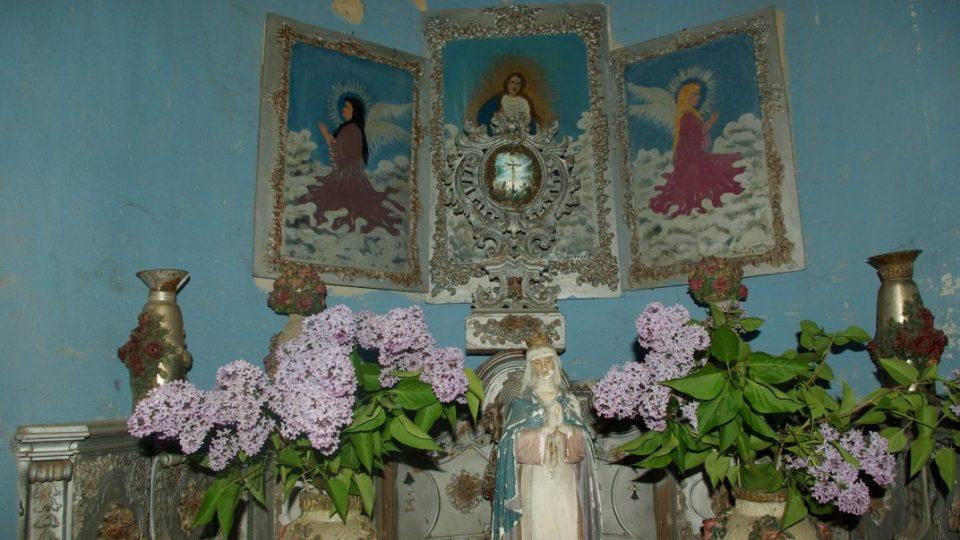 Specifickou výzdobu kaple sv. Isidora majitelé zatím zachovali