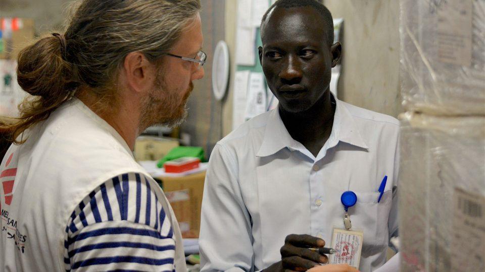 Stanislav Havlíček v Jižním Súdánu