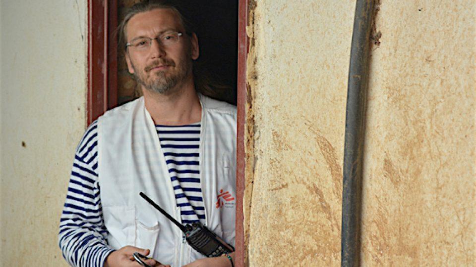 Stanislav Havlíček v Jižním Súdánu, Agok 2016.jpg