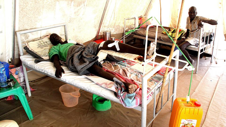 Nemocnice MSF v Agoku