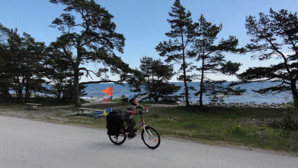 Rodina Zigáčkových cestuje na kole po Evropě (Švédsko)