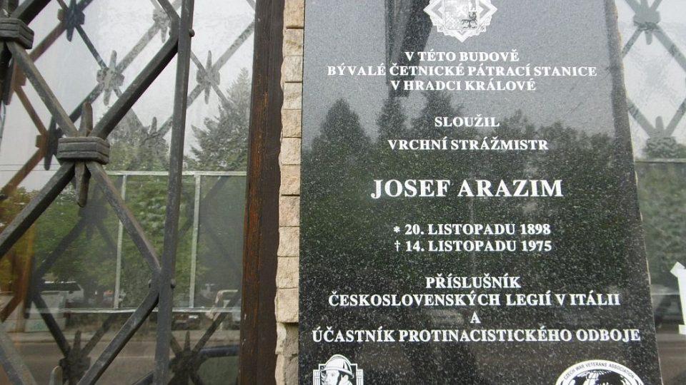 Strážmistr Arazim z Četnických humoresek nesloužil na pátračce v Brně, ale v Hradci Králové