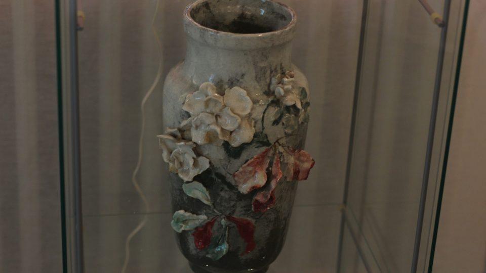 Váza, dílo Josefa Bohuslava Foerstera