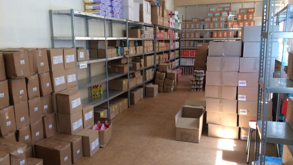 Sklad materiální a potravinové pomoci ve Varnsdorfu