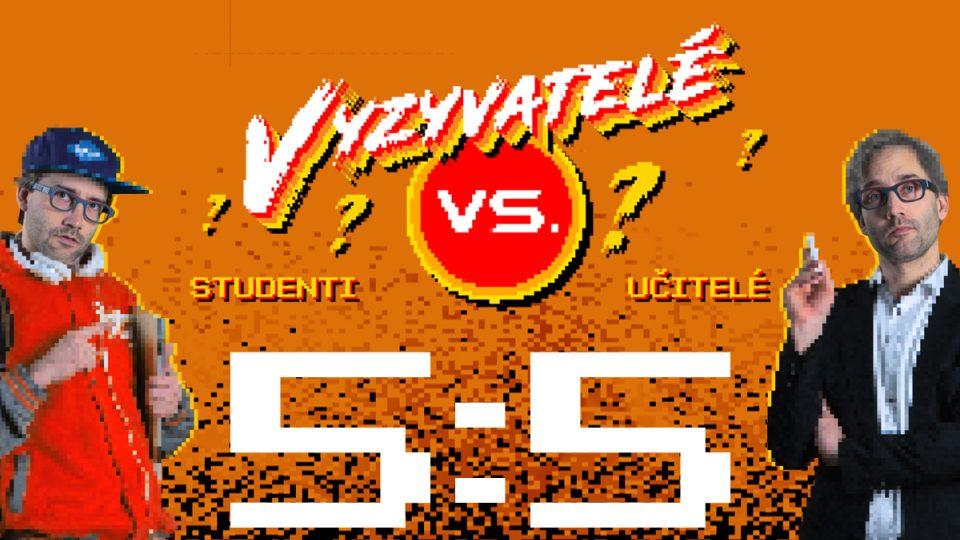 Vědomostní soutěž na univerzitní půdě Vyzyvatelé skončila remízoi