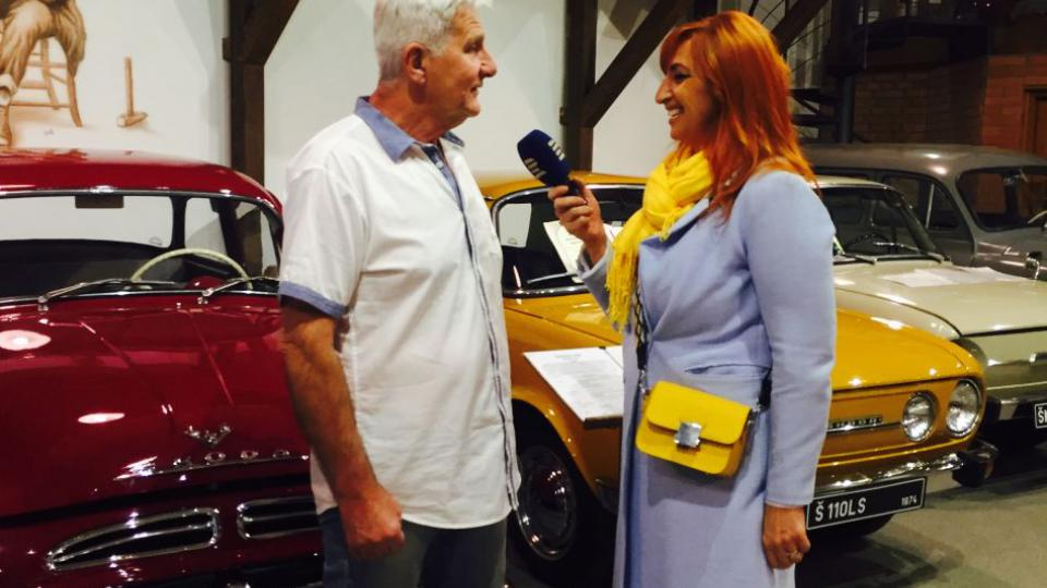Partička Reincars se zabývá opravami a restaurováním vozidel značky Škoda