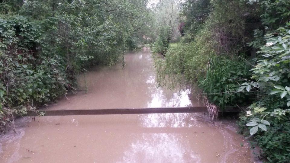 Mlýnský náhon přivádí vodu z řeky Odry
